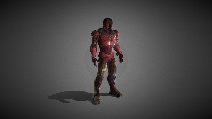 IRONMAN LOST FIGHT 3D Model