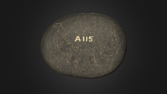 Witch's Stone, Orphir, Orkney 3D Model