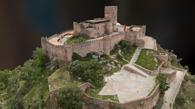 Castillo de Alconchel (Badajoz) 3D Model