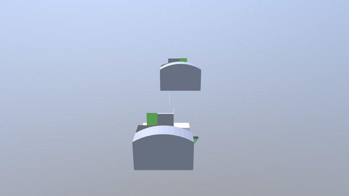 Ufa Skalodrom11 3D Model