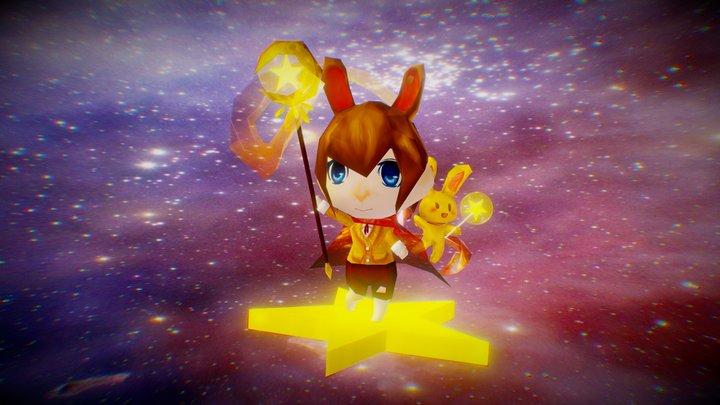 Star Magician 3D Model