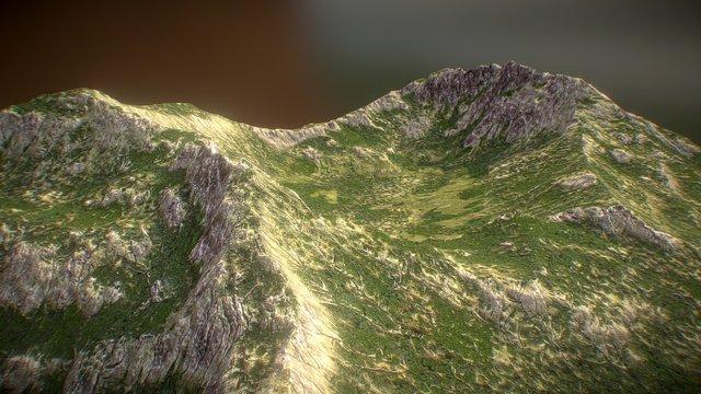 *Free* Quick terrain test 3D Model