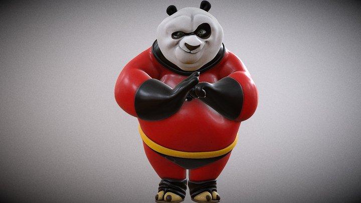Kunfu Panda Incredible 3D Model