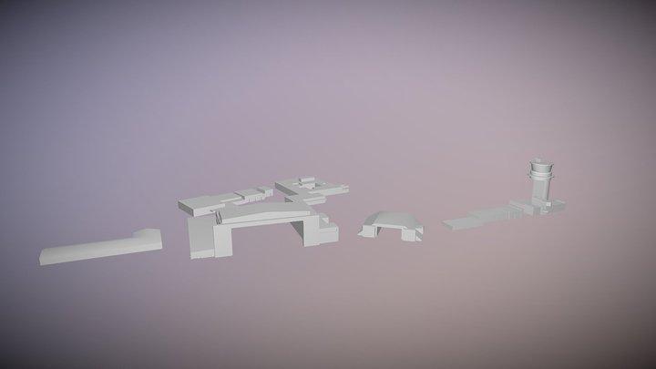 Papa Airfield 3D Model
