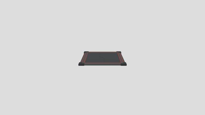 Trap Open Animation 3D Model