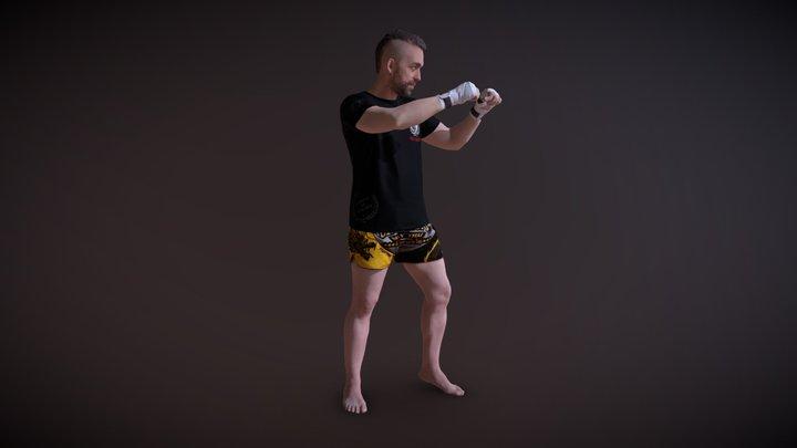 THAI BOXER 3D Model