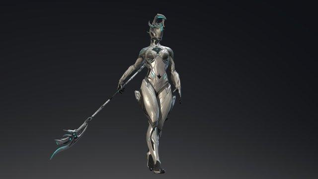 Warframe : Athena (Magesty) Nyx Skin V1.1 3D Model