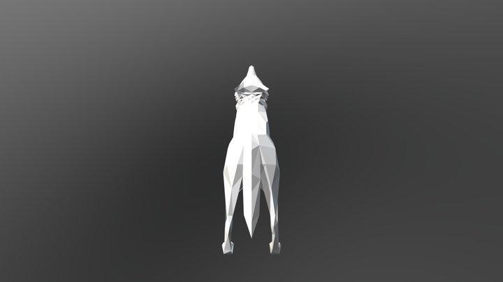 Wolf Export 01 3D Model
