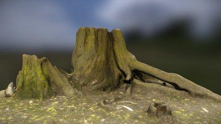 Stump_4 3D Model