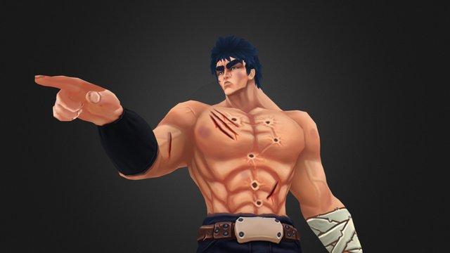 Hokuto no Ken Fan Art 3D Model