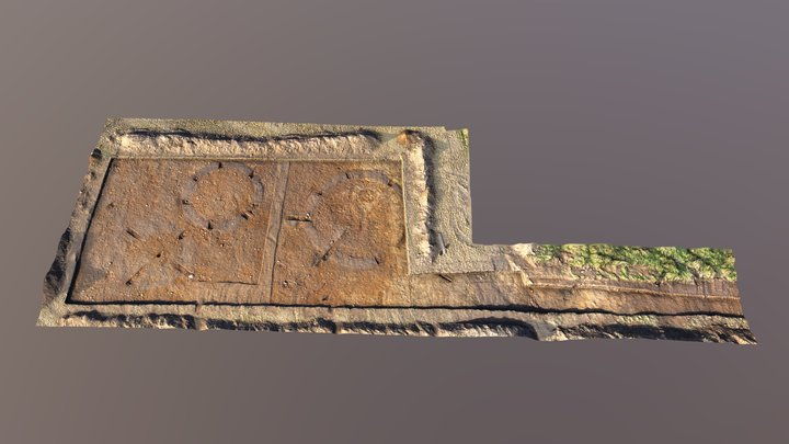 Tarradale Through Time upper trench 3D Model