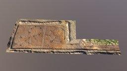 Tarradale Through Time upper trench 3D Model