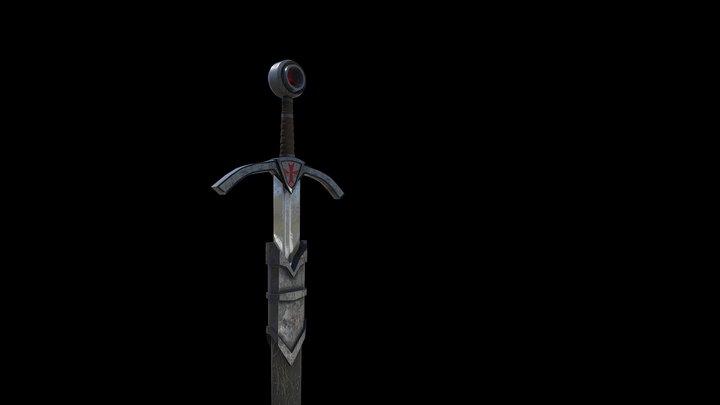 Templar Sword 3D Model