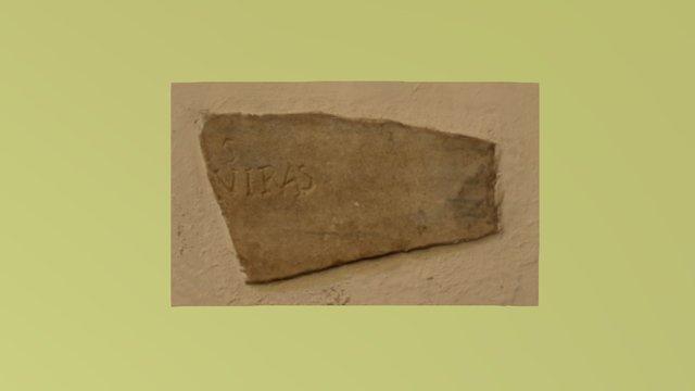Epigrafe latina - Albano Laziale (3) 3D Model