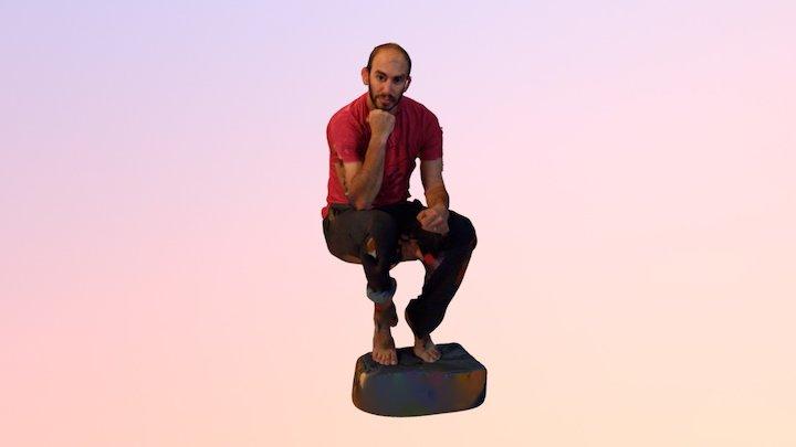 Thinker 3D Model