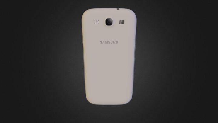 Galaxys-3s-white 3D Model