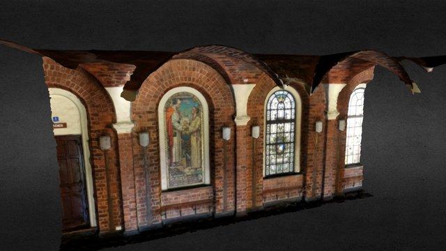 Winthrop Hall foyer 3D Model