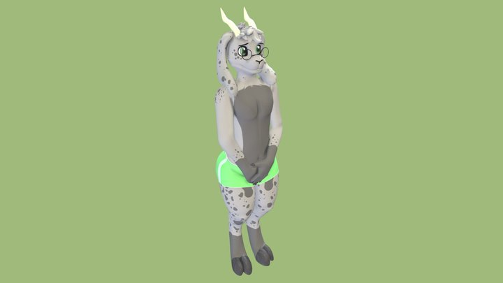 Clive 3D Model