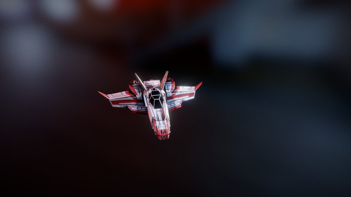 Icarus Ascension - space ship 3D Model