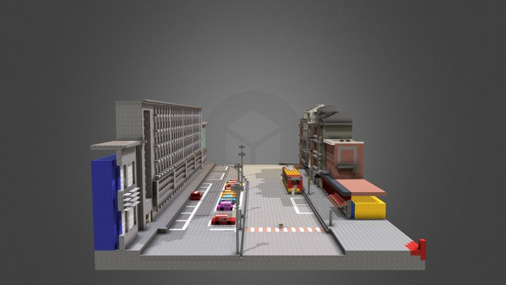Place Cockerill - résultat des 2 prem. clubs 3D Model