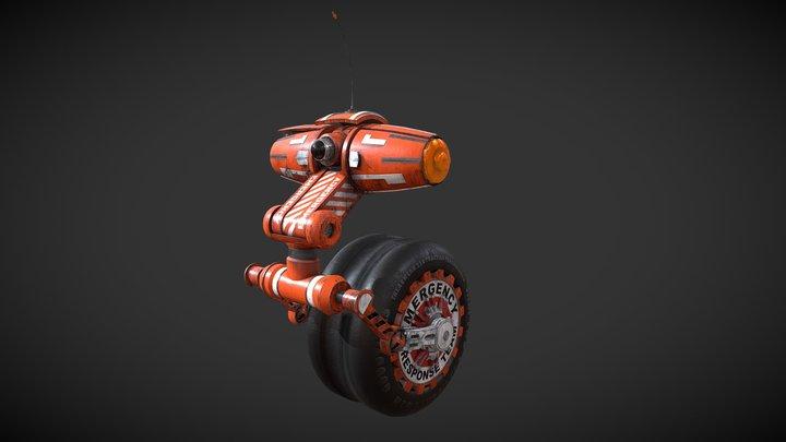 #RobotTextureChallenge Search and Rescue 3D Model