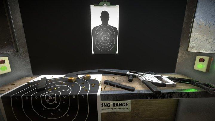 Shooting Range 3D Model