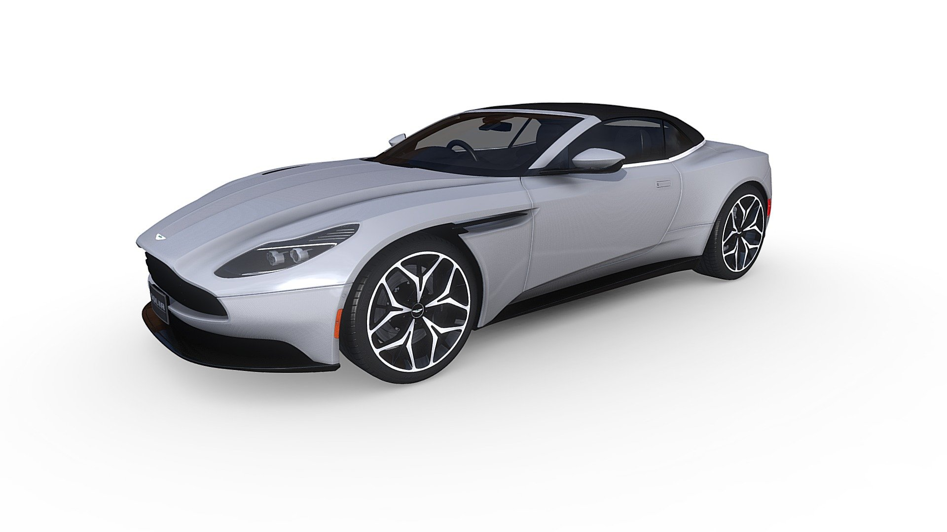 Aston Martin Db11 Volante 2019 Buy Royalty Free 3d Model By Squir3d Squir3d B0e84e2 Sketchfab Store