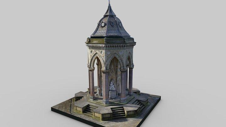 Burdett-Coutts Fountain 3D Model