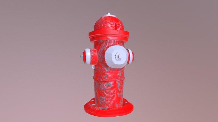 Fire hydrate 3D Model