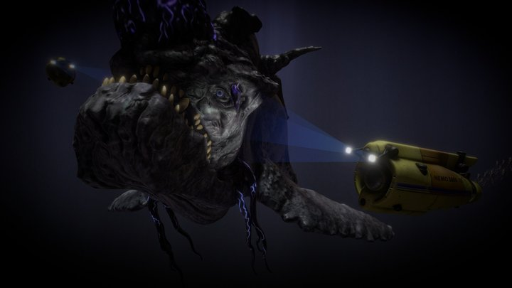 Behemoth 3D Model