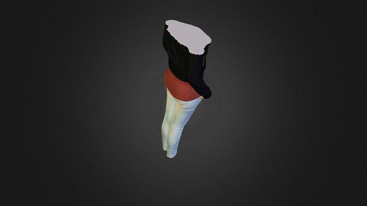 Corps d'une femme  3D Model