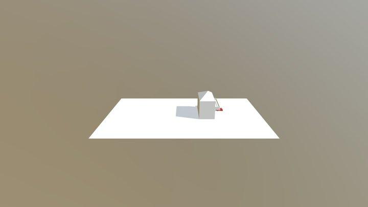Haus 2 3D Model
