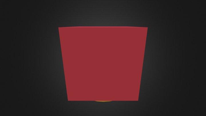 Cubo Con Cilindro 3D Model
