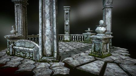 Stone Composition 01 3D Model