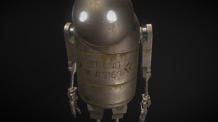 Nier: Automata | Small Robot 3D Model