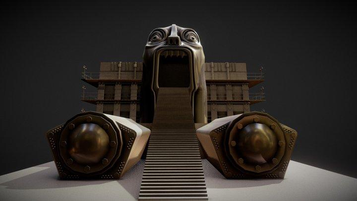 Metropolis - Moloch 3D Model