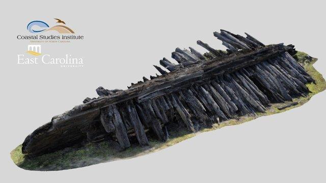 Nags Head Wreck (26 Feb 2016) 3D Model