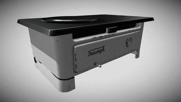 Triumph najsavršeniji štednjak 3D Model