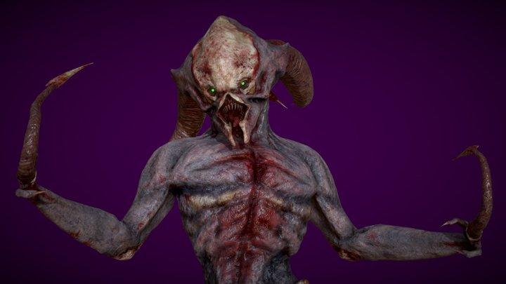 Lasher Demon 3D Model