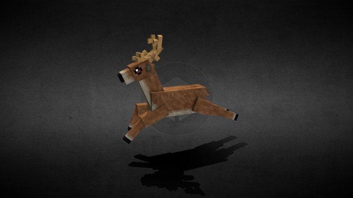DA | Reindeer 3D Model