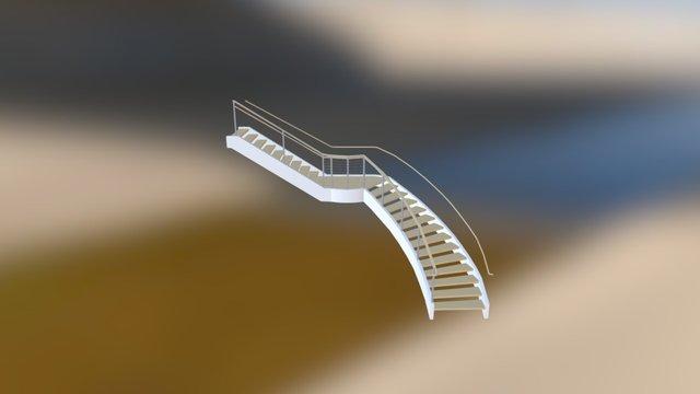 Ferra New Stair 3D Model