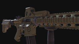 XYZ AR-15 Diploma 3D Model