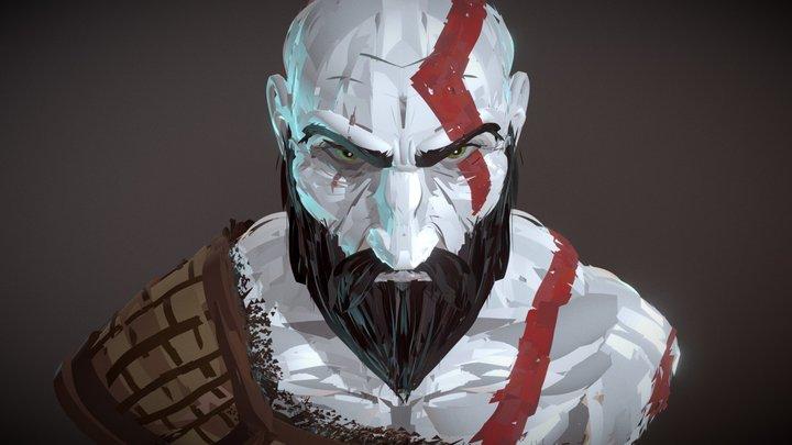 CoolPaintr VR - Kratos 3D Model