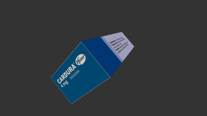 Cardura 4 mg 3D Model