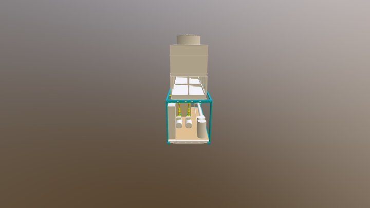 Cooling Container 3D Model