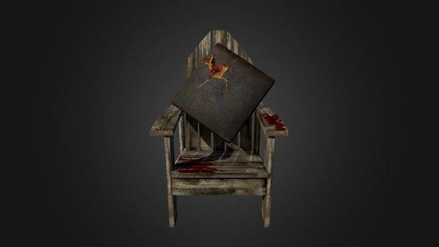 Chair Horror07 3D Model