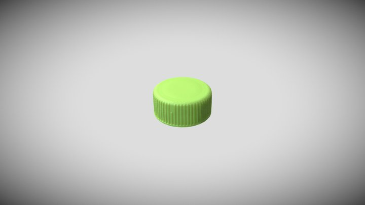 <!--Day15--> Plastic Bottle Cap 3D Model