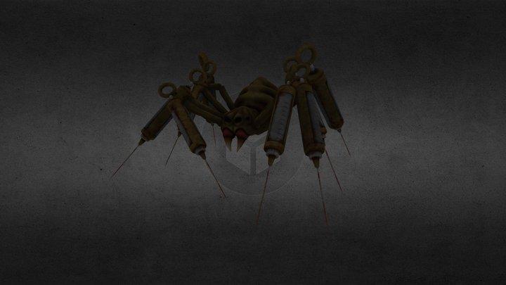Huggable Spider 3D Model