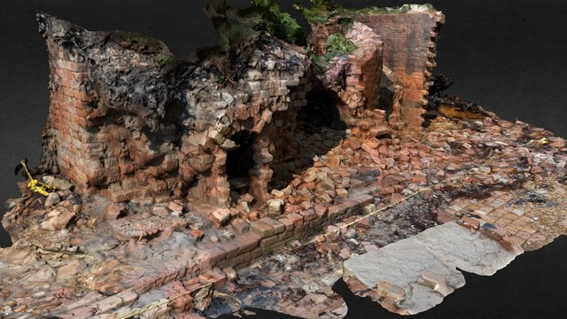 CITiZAN Brick Kiln, Brownsea Island 3D Model