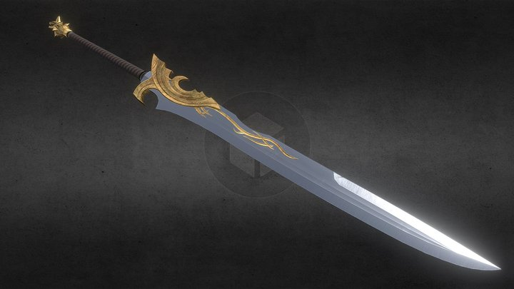 CL's Greatsword 3D Model